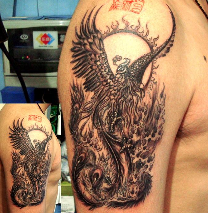 龙凤呈祥纹身图案的寓意