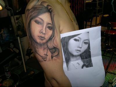 做肖像纹身的技巧