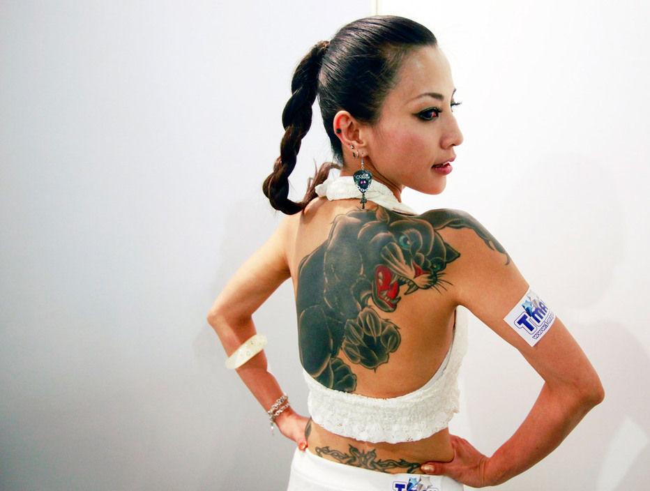 纹身-时代的流行标志