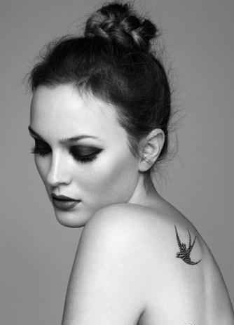 女性最喜爱的燕子纹身图案
