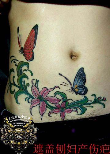 剖腹产刀口好的图片_妇产纹身内容图片分享
